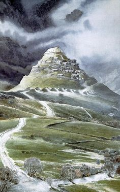 alan lee - castle theoden