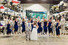 Modern Nautical Wedding in Wisconsin | Images by Soda Fountain Photography | Via Modernly Wed | 19