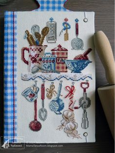 Modern Embroidery, Embroidery Hoop Art, Cross Stitch Embroidery, Cross Stitch Patterns, Monogram Cross Stitch, Cross Stitch Rose, Modern Cross Stitch, Cross Stitch Kitchen, Cross Stitch Finishing