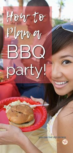 Easy BBQ Party Planner With Great Summer Party Ideas! {Printable} What do you need to host a great bbq party? We've got it all here, menu, how to get organized, and a great party planner printable. Join us and see how planning a bbq party is dead easy. Bbq Party, Starbucks Banana Bread, Buttermilk Chocolate Cake, Creamy Coleslaw, Classic Cheesecake, Potluck Recipes, Family Recipes, Puff Pastry Recipes, Easy Family Dinners