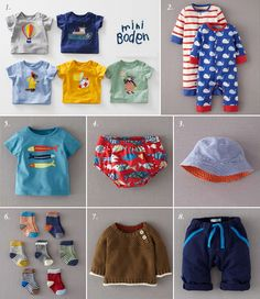 I'm obsessed with Mini Boden boys clothes   via 100 Layer Cake