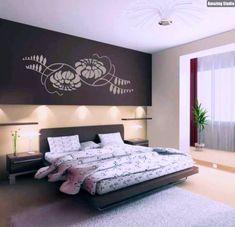 AuBergewohnlich Wände Gestalten Im Schlafzimmer