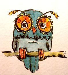 Owl Illustration | Clancy's Pencil