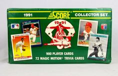 1991 Score Baseball Card Complete Set Collection FACTORY SEALED Box