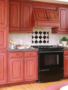 Tip from Siri Evju, CKD, Oregon    Buy stained cabinets rather than painted ones.