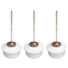 Three Small Opaline Lights | From a unique collection of antique and modern more lighting at http://www.1stdibs.com/furniture/lighting/decorative-lighting-lamps/