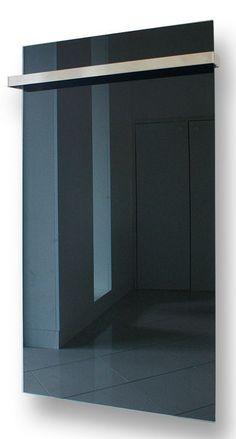 G-OLD Üveg infrapanel fekete törülköző szárítóval és infrafűtés