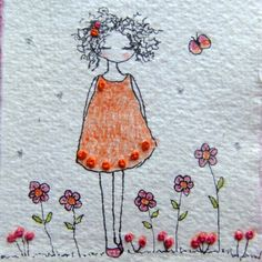 flowers in my garden by LiliPopo on Etsy