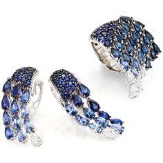 Diamonds and precious stones like gleaming drops: this is Acqua Preziosa Collection. #StefanHafner #HauteCouture #HighJewellery #diamonds #acquapreziosa #craftmanship
