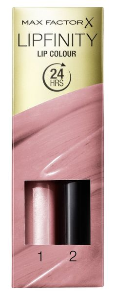 Max Factor Lipfinity Lipstick Two Step New In Box - 006 Always Delicate. Glamorous finish. Easy two step system. Vibrant colour. Long lasting. New in box.