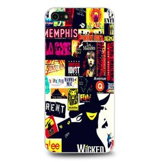 Broadway Musical Collage iPhone 5[S] Case