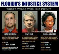 Florida's injustice system.