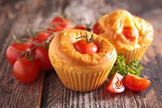 Tomaten-Muffins - Rezept