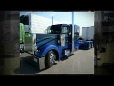Peterbilt Show Truck Collection Video: Hot tricked out Petes built for show. Older model show trucks too.
