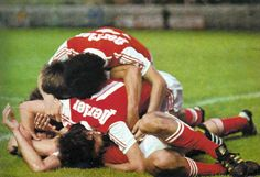 Finale coupe de France 1977. ST-ETIENNE-STADE DE REIMS. ~ THE VINTAGE FOOTBALL CLUB