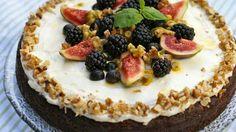 Gulrotkake – Berit Nordstrand Dairy Free Baking, Milk And Eggs, Fodmap, Egg Free, No Bake Cake, Nom Nom, Cheesecake, Healthy Recipes, Healthy Food
