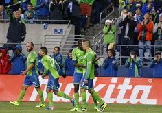Clint Dempsey scored his first goal in Rave Green as the Sounders played to a 1-1 draw against the LA Galaxy on Sunday night at CenturyLink Field.