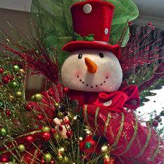 Snowman Tree Topper
