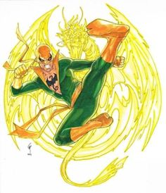 "thecomicninja: "" Iron Fist by Garrie Gastonny "" Iron Fist Powers, Marvel Comics, Iron Fist Marvel, Comic Art, Comic Books, Power Man, Moon Knight, Luke Cage, Comic Character"