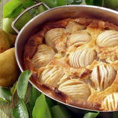 Passion for pærer - Dansukker Snack Recipes, Snacks, Deserts, Chips, Meat, Chicken, Baking, Danish, Food Ideas