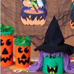 Halloween Cannisters Craft