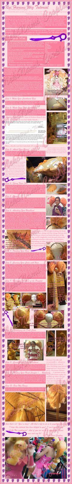 Nui Harime Wig Tutorial by NekoNamiCosplay.deviantart.com on @deviantART