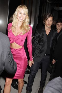 Candice Swanepoel - Victoria's Secret Fashion Show After Party