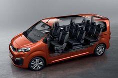 Le nouveau combispace de Peugeot se décline 8 places pour les familles nombreuses et en 9 places pour les navettes.
