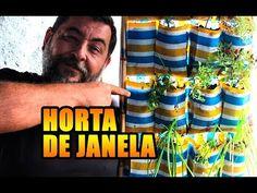 COMO FAZER UMA HORTA SUSPENSA - Horta de janela na sapateira - OFF THE G...