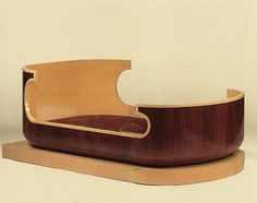 Ernest Boiceau bed - 1930s Art Deco