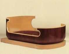 Ernest Boiceau bed - 1930s Art Deco