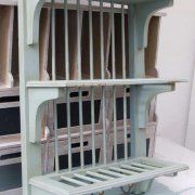 Home u003e Furniture u003e Wooden Plate Rack - Wall Mounted & Simple Plate Display Rack   Pinterest   Plate racks Custom plates ...
