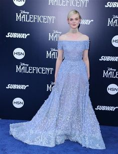 """Elle Fanning attended the world premiere of Disney's """"Maleficent"""" at the El Capitan Theatre in Hollywood on May 28, 2014."""