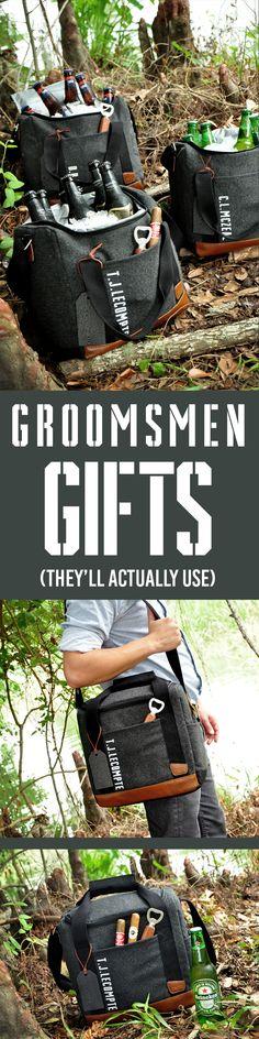A groomsmen cooler g...