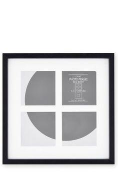Black Square Photo Frame