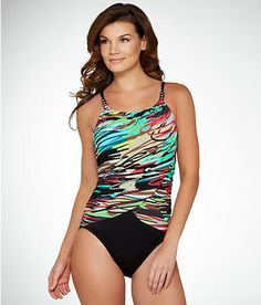 Magicsuit Scribble Lisa Swimsuit Swimwear 453055 at BareNecessities.com