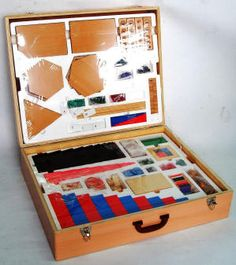 Montessori Materials kit consists of key primary components of Montessori Math…