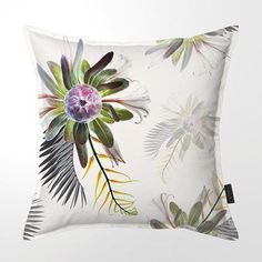 Inflorescence Collection 02 Scatter Cushions, Throw Pillows, Natural Curiosities, Penny Black, Feather, Weaving, Canvas, Collection, Textiles
