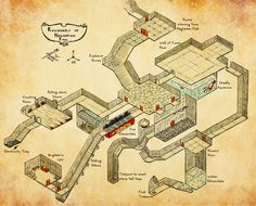 dungeons and dragons map | Tumblr