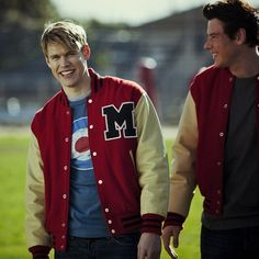 Chord Overstreet and Cory Monteith