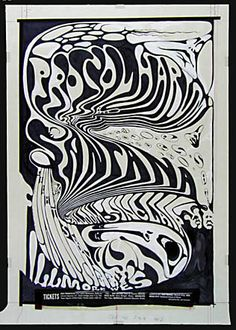 Procol Harum  and Santana poster by shawna-bo-bonna, via Flickr
