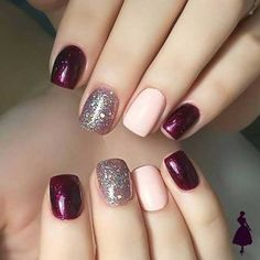 Best Fall Nails for 2018 - 45 Trending Fall Nail Designs - nail art galleries Shellac Nails, Acrylic Nails, Nail Polish, Coffin Nails, Shellac Nail Designs, Stiletto Nails, Nails Design, Fall Nail Art, Fall Nail Colors