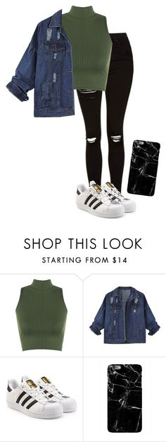 """You were right about me not caring"" by ilovescreamqueens13 ❤ liked on Polyvore featuring WearAll and adidas Originals"