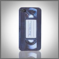 VHS Tape Film Cassette hard case cover for Apple iPhone 4