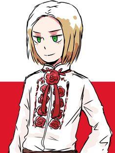 Hetalia - Poland Spamano, Usuk, Poland Hetalia, Tak Tak, Poland History, Hetaoni, Cute N Country, Valley Girls, Axis Powers