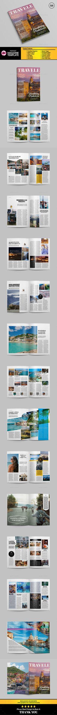 Traveling Magazine Vol. 03 - #Magazines Print Templates Download here: https://graphicriver.net/item/traveling-magazine-vol-03/17133741?reff=classicdesignp