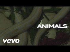 Maroon 5 - Animals (Lyric Video) - YouTube