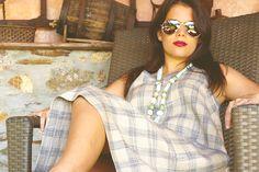 UV004  Tamanho | Size: M/L  Descrição | Description: Vestido linho com vivos em ganga | Linen dress with jeans   Composição | Composition: 100% Linho | 100% Linen  Preço | Price: 70€