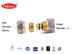 "Find More Pipe Fittings Information about 2015 New Products 26x1""mm Reducing Coupling fittings Pipe Plastic Copper Brass Fittings  PEX AL PEX water pipe Palconn PL31,High Quality pipe laser,China pipe a335 Suppliers, Cheap pipe pex from Weifang Palconn Plastics Technology Co., Ltd  on Aliexpress.com"