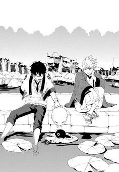 Hanae , Fuzzy and Itsuki | Fukigen Na Mononokean #orimangach11